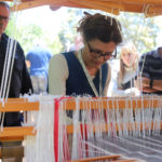 Ilka White Weaving demonstration
