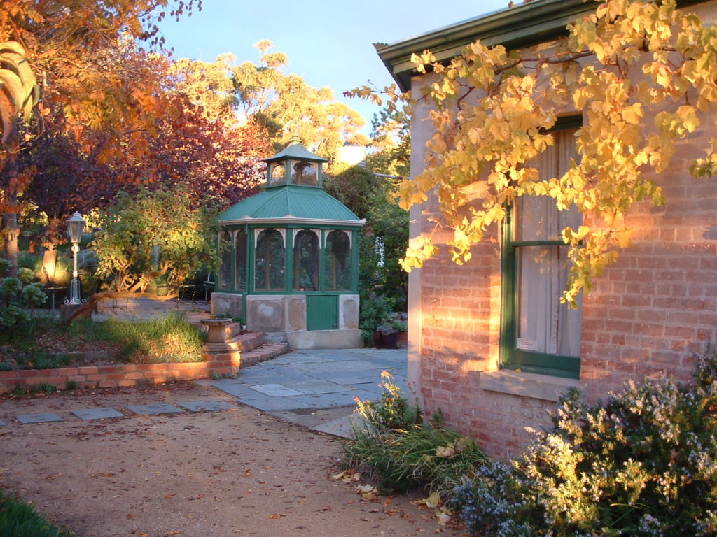 Courtyard with Bird Aviary
