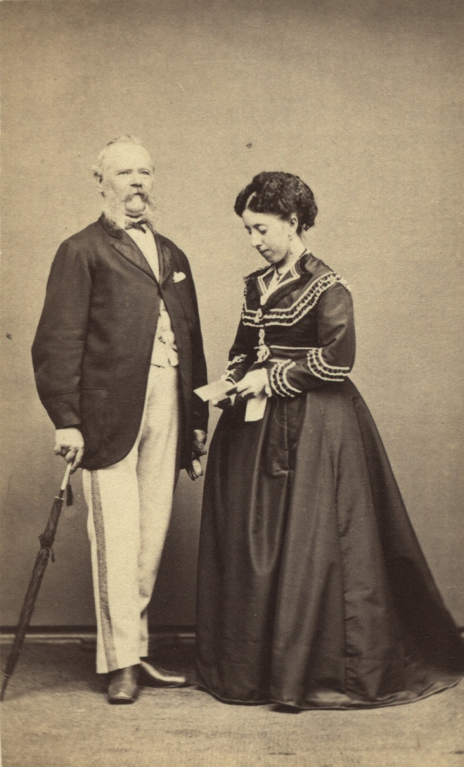 Bertha and Ernest Leviny 1870