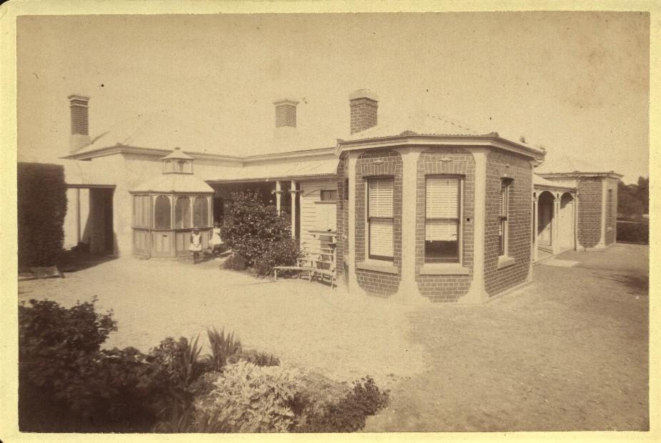 Buda Couryard c1895