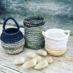 Raffia basket workshop