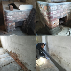 Reinstating lost skirting in Laundry / Scullery