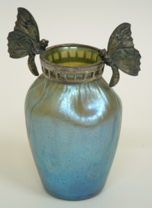 CURATOR'S PICK - LOETZ GLASS VASE c1900