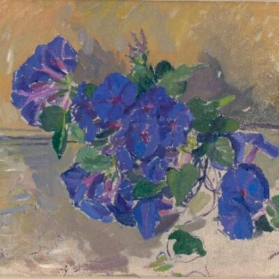 Morning Glory (1931) Oil on board by Arnold Shore